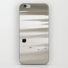 Walk on the beach iPhone Skin