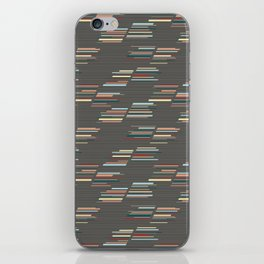 Colorful strips iPhone Skin