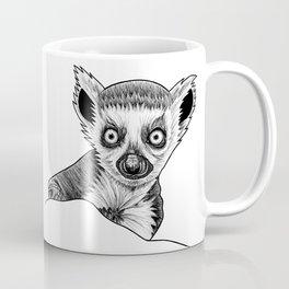 Baby ring-tailed lemur Coffee Mug