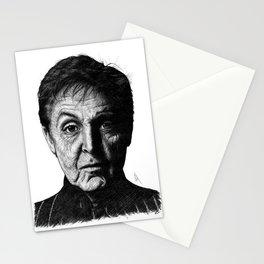 Paul Macca Portrait Stationery Cards
