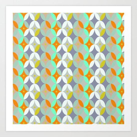 Geometric FUN Art Print