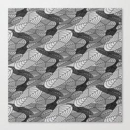 Polar Grid 2 Canvas Print