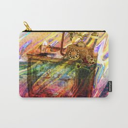 flamingo story.. Carry-All Pouch