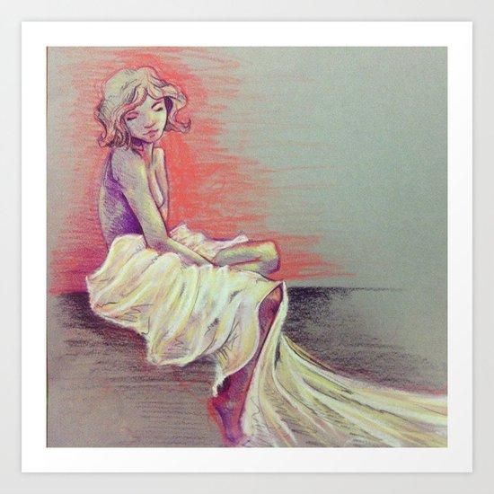 Elegance Sketch Art Print