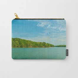 Vintage Postcard Style and Color Carry-All Pouch