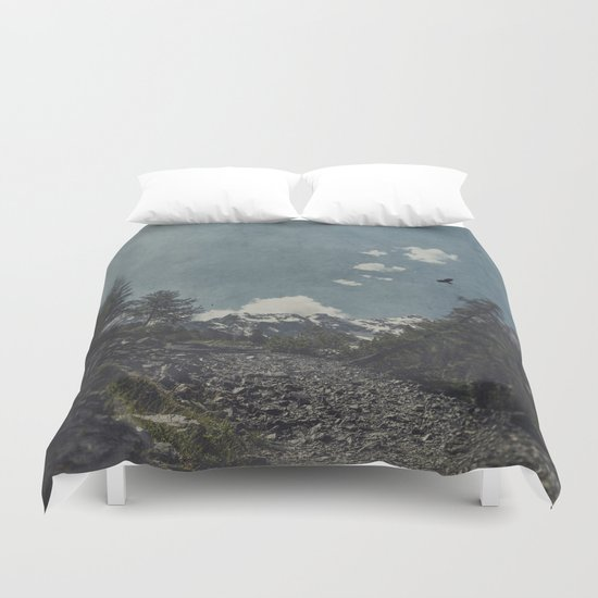 Hike a Mountain! Duvet Cover