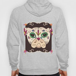 Pug dog face Hoody