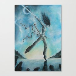Blade Dancer  Canvas Print