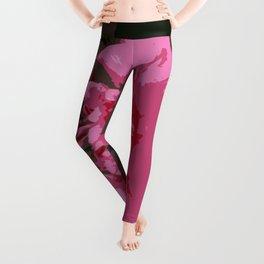 Pink Camelia Leggings