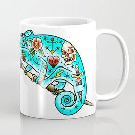 Tattooed Chameleon Coffee Mug
