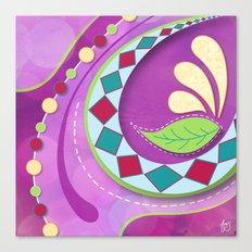 Purple Tango Canvas Print