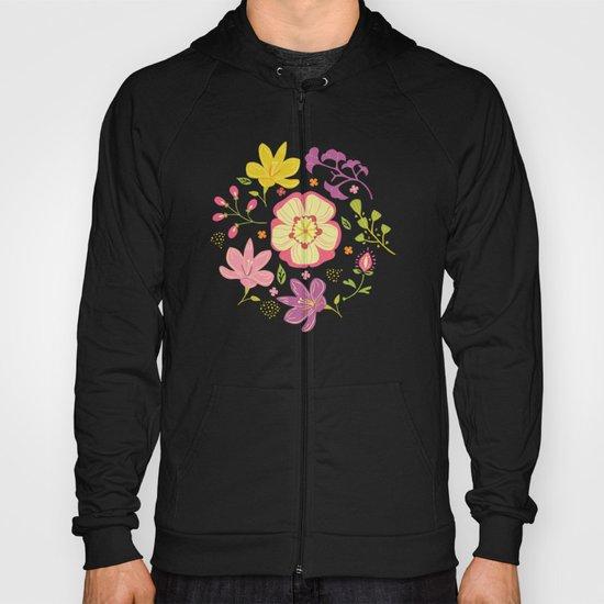 Oriental Blooms Hoody