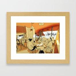 Tivoli cafe Framed Art Print