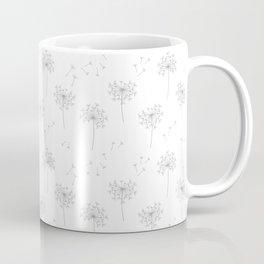 Dandelions in Grey Coffee Mug