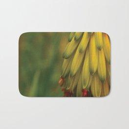 Banana Lookin' Flowers Bath Mat
