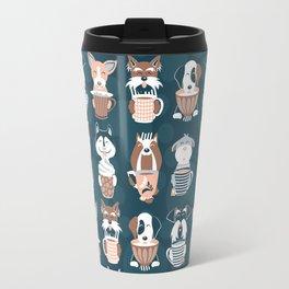 Doggie Coffee and Tea Time II Travel Mug