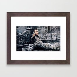 Earn This Framed Art Print