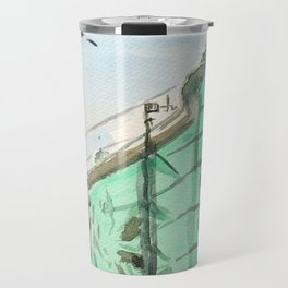 San Francisco Sentinel Building, 1907 Travel Mug