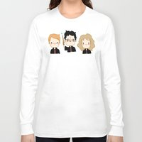 potter Long Sleeve T-shirts featuring Happy Potter by Keasy