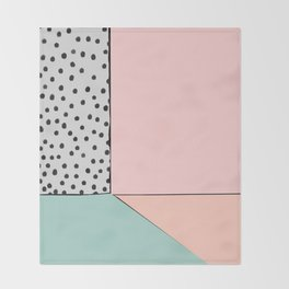that's so 80's - Holly's home Throw Blanket