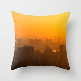 SEOUL 01 Throw Pillow