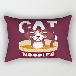 Cat Noodles Rectangular Pillow