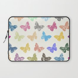 Colorful butterflies Laptop Sleeve