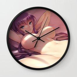 Highschool of the Dead Busujima Saeko Nude Wall Clock