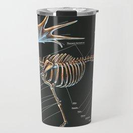 Megaloceros Giganteus Skeletal Study Travel Mug