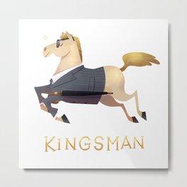 racehorses - kingsman Metal Print