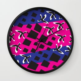 Geometric Matiss Pat Wall Clock