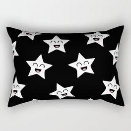 Happy Stars Rectangular Pillow