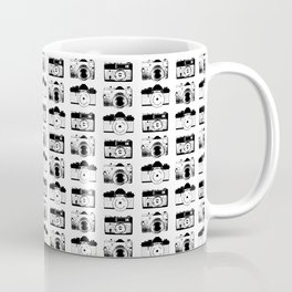 Vintage film cameras pattern Coffee Mug