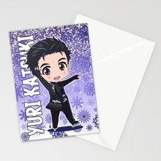 Chibi Yuri Katsuki Stationery Cards