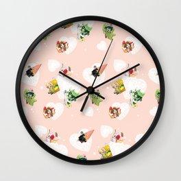 BnHA Café Wall Clock