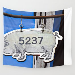 This Pig Might Fly Wall Tapestry