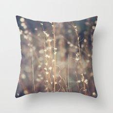 Sparkling Fairy Lights Throw Pillow