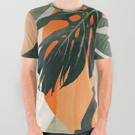 Jungle 3 All Over Graphic Tee