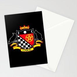 Cabot Crest Color/Black Stationery Cards