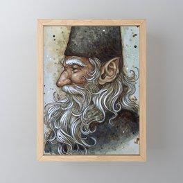 Wise Gnome Framed Mini Art Print