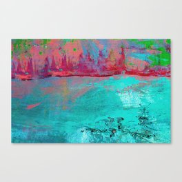 Turquoise Ocean Canvas Print
