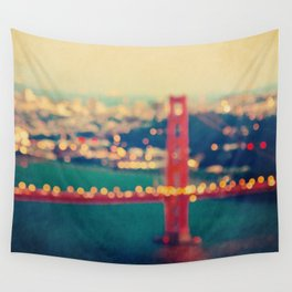 Golden Gate Dreams Wall Tapestry