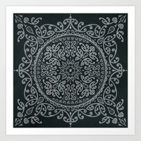 maori Art Prints featuring Maori Mandala by Concept of the Good