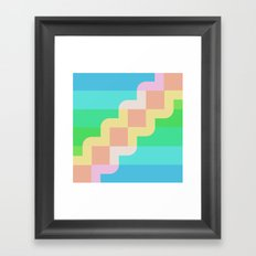 sea cells Framed Art Print