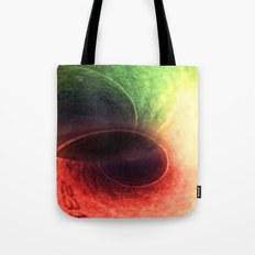 Tunnel Vision Distortion Tote Bag