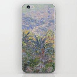 Palm Trees at Bordighera iPhone Skin