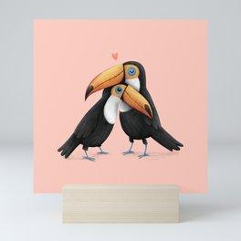 Toucan Love Mini Art Print