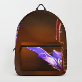 Solo Purple Anemone Forest  Backpack