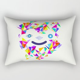 Chromatic character  Rectangular Pillow