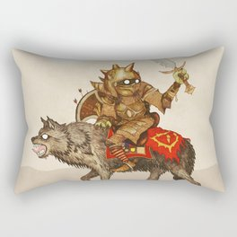 Goblin & Wolf cavalry Rectangular Pillow